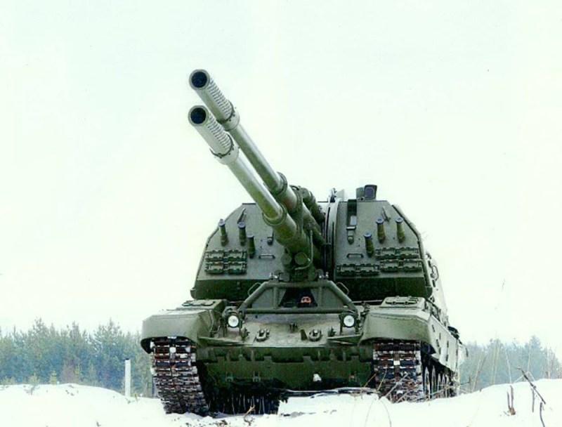 2. САУ Коалиция-СВ. вооружение, оружие, россия