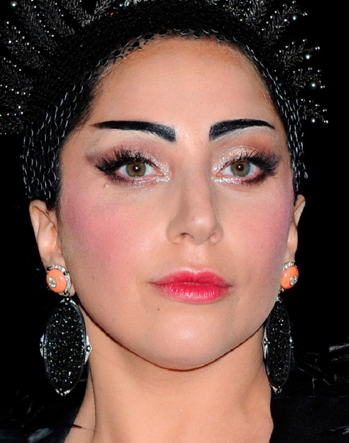 Леди Гага грим, звезды, знаменитости, косметика, красота, макияж
