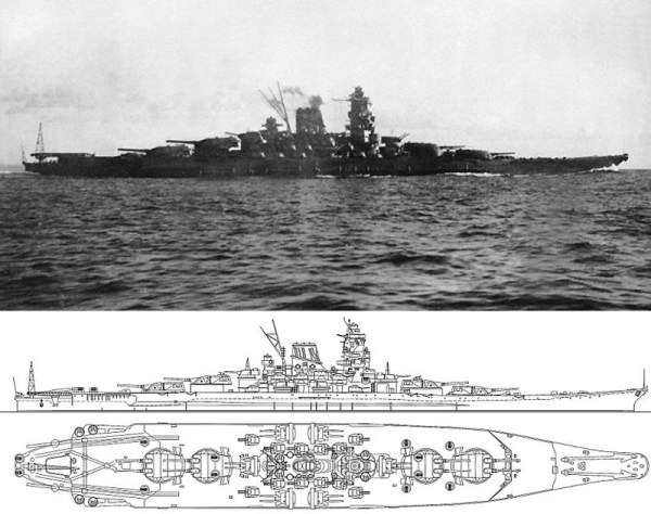 Линкор 171Ямато187