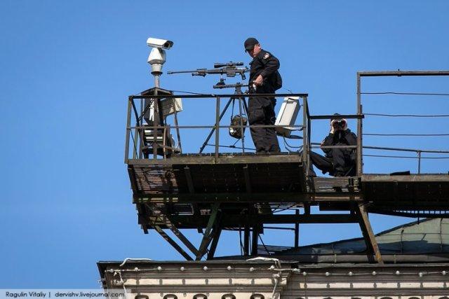 Камера следит за снайпером? 9 мая, Федеральная служба, снайперы