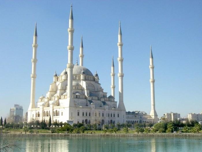 9. Мечеть Сабанчи, Турция красота, мечеть, мир