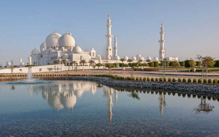 6. Мечеть шейха Зайда, ОАЭ красота, мечеть, мир