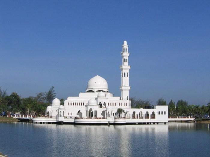 5. Парящая мечеть, Малайзия красота, мечеть, мир