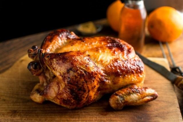 12. Запеченный цыпленок кухня, мужчины, рецепты