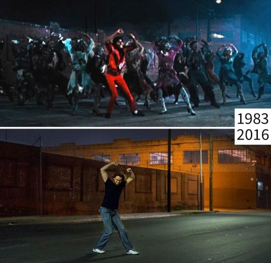"""Майкл Джексон, """"Триллер"""" голливуд, кино, лос-анджелес, место съемки изменить нельзя"""