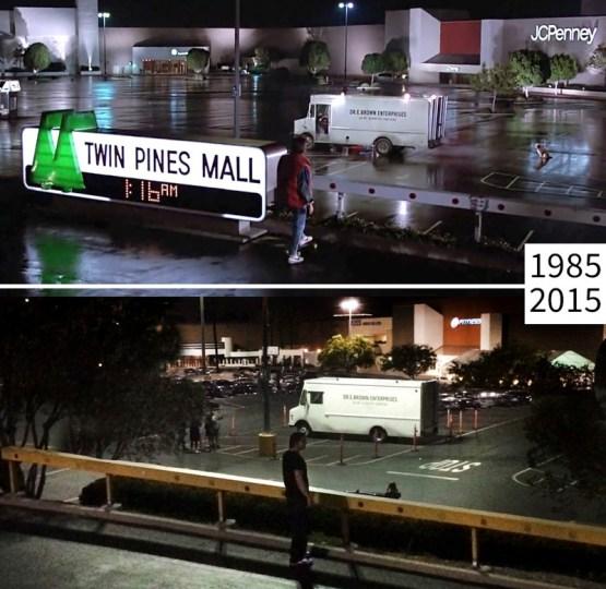 Назад в будущее голливуд, кино, лос-анджелес, место съемки изменить нельзя