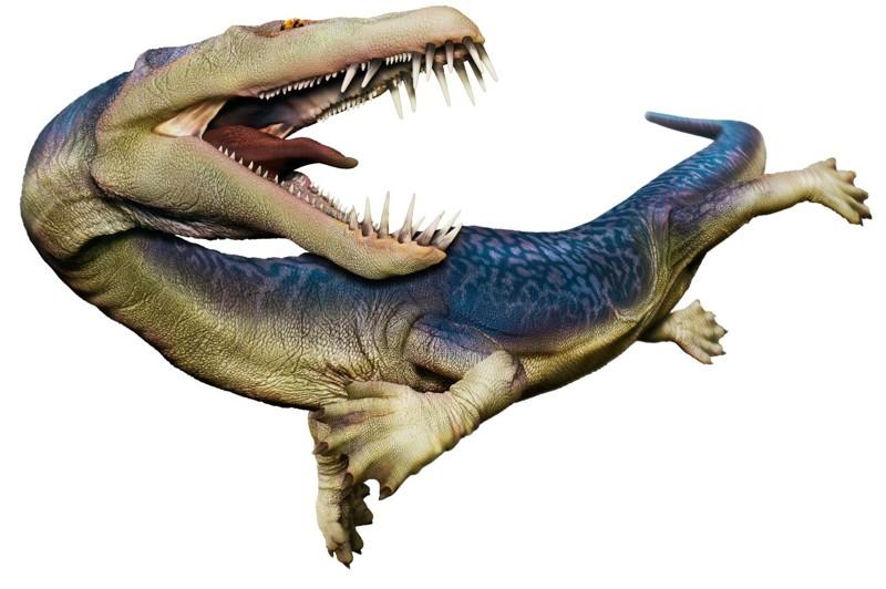 Нотозавры животные, море, ужас
