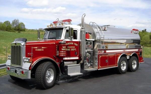 Действующие пожарные машины со всего мира