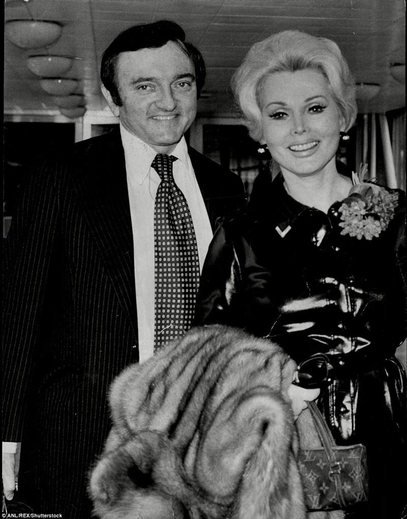 Шестой муж - Джек Райан (1975-1976) Жа Жа Габор, актриса, жизнь, смерть