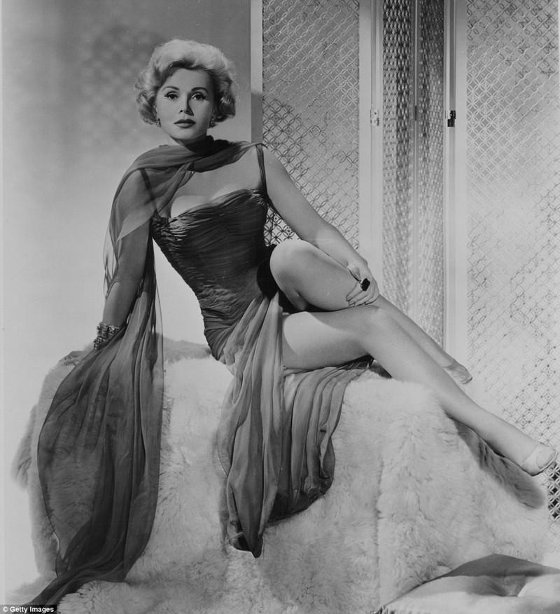 Жа Жа Габор была секс-символом 50-х  Жа Жа Габор, актриса, жизнь, смерть