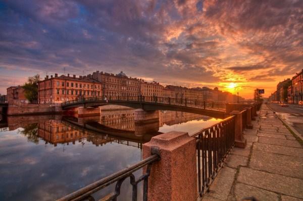 Очень красивые фотографии ночного Санкт-Петербурга ...