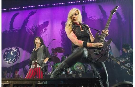 11. Нита Штраус, The Iron Maidens гитаристки, музыка, музыканты