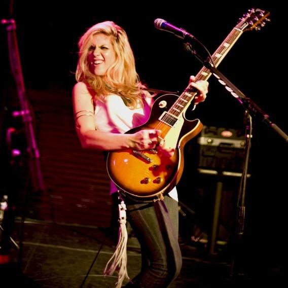 12. Аллисон Робертсон, The Donnas гитаристки, музыка, музыканты