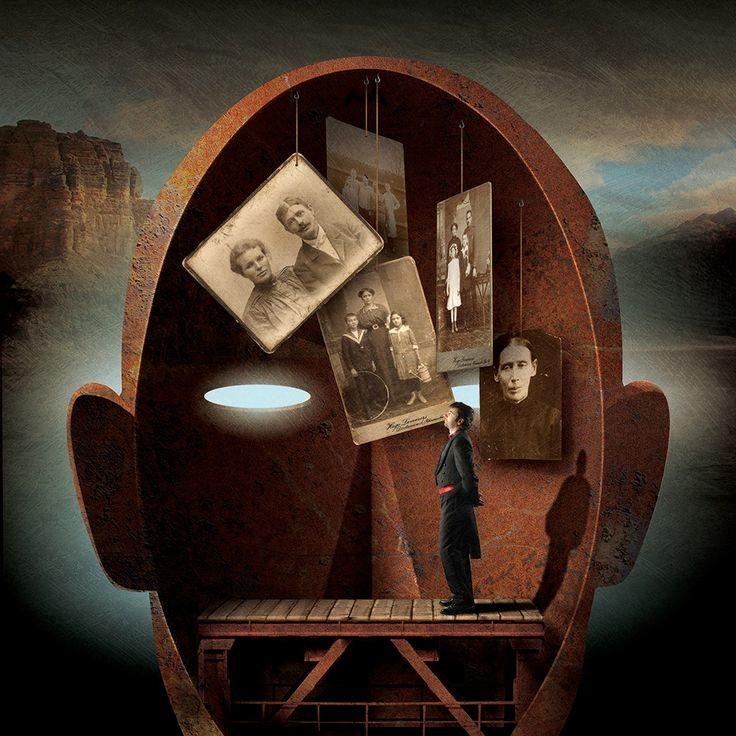 7. Сила памяти  иллюстрация, общество, порок, сюрреализм