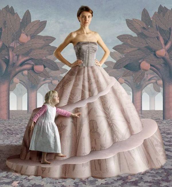 3. Дорожка к взрослению  иллюстрация, общество, порок, сюрреализм