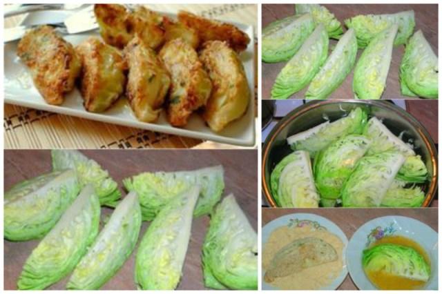 Если кто-то предпочитает овощи, то капуста в кляре прекрасное блюдо Просто, вкусно, еда, завтраки