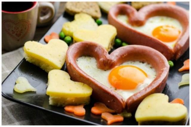 И в сосиске можно сделать яйцо Просто, вкусно, еда, завтраки