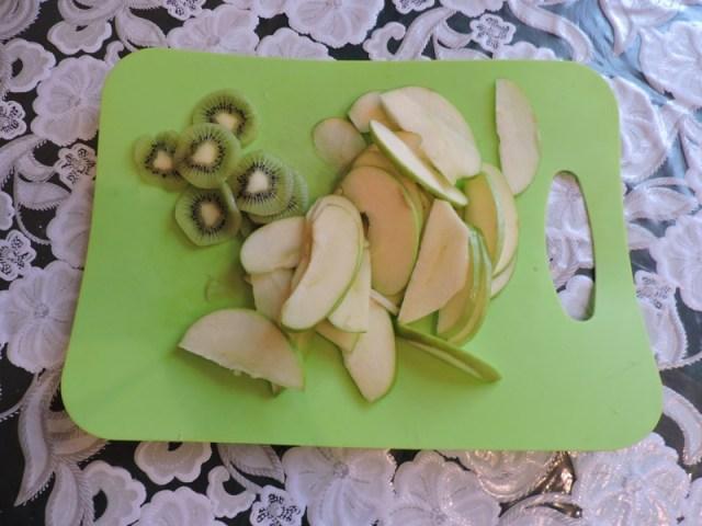 Порезать фрукты еда, сделай сам, фоничка