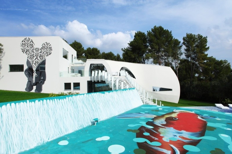 """Вилла """"Дом для жизни"""", архитектура, интересное, испания"""