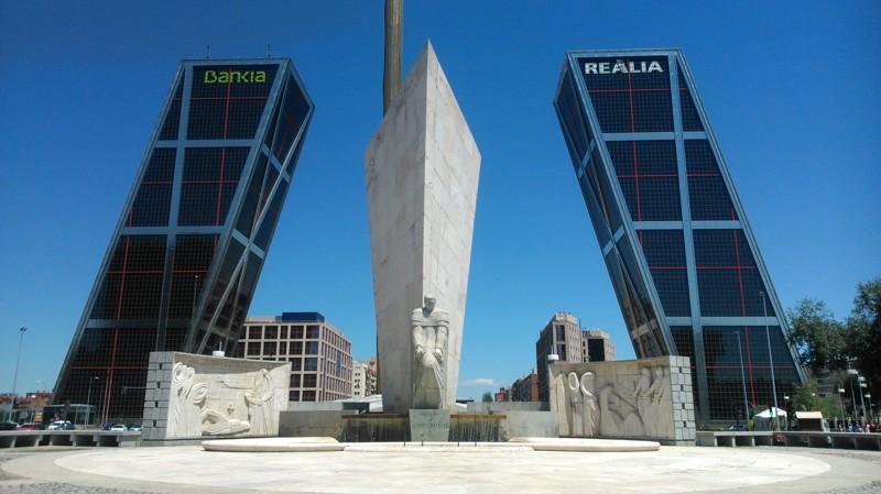 Офис компании Torres KIO, Мадрид архитектура, интересное, испания