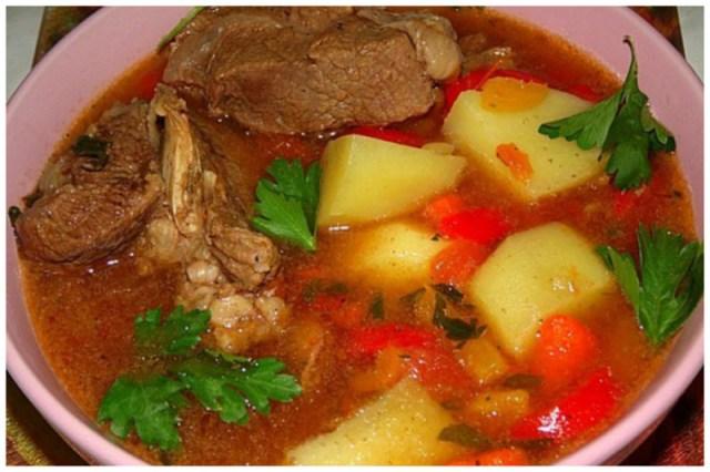 Шурпа из говядины вкусно, интересное, рецепты, супы