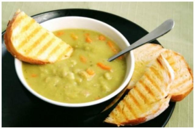 Гороховый суп-пюре вкусно, интересное, рецепты, супы