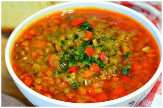 Болгарский суп лешта (суп с чечевицей) вкусно, интересное, рецепты, супы
