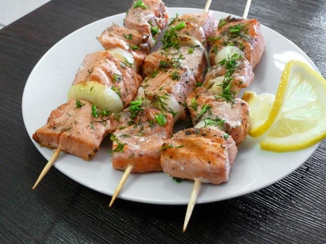 4. Маринад для шашлыка из рыбы весна, еда, рецепты, шашлык