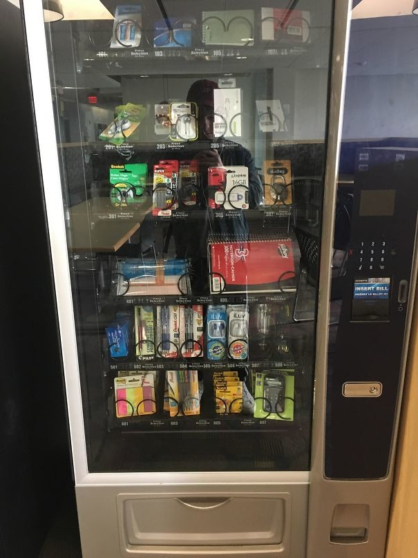 Торговые автоматы с канцелярией прямо в школе гениально, изобретения, подборка, студенты, школа