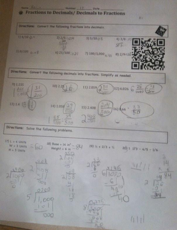 Домашнее задание – QR-код открывает видео на Youtube с инструкцией учителя гениально, изобретения, подборка, студенты, школа