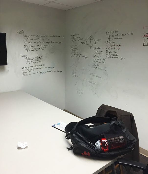 Маркерная доска по всему периметру кабинета гениально, изобретения, подборка, студенты, школа