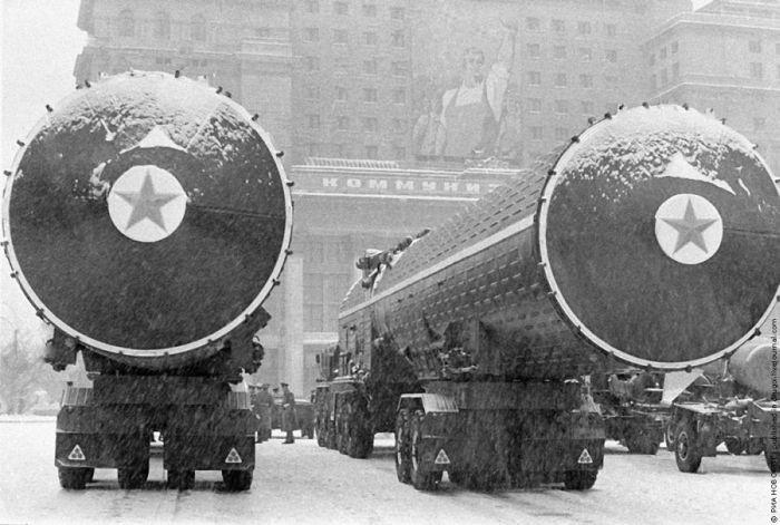 Ракетная техника перед парадом на Красной площади 7 ноября 1970 года. история, события, фото