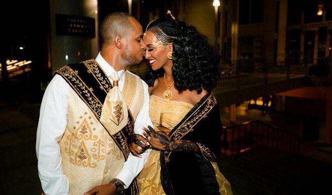 Эфиопия в мире, жених, люди, невеста, обряд, одежда, свадьба, традиция