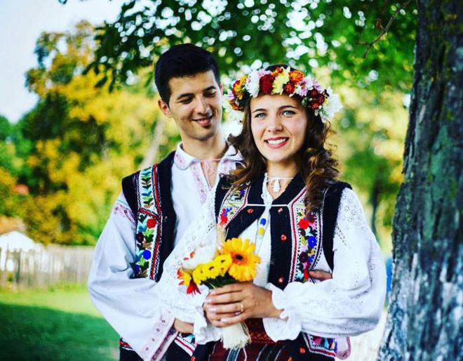 Румыния в мире, жених, люди, невеста, обряд, одежда, свадьба, традиция