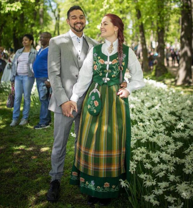Норвегия в мире, жених, люди, невеста, обряд, одежда, свадьба, традиция