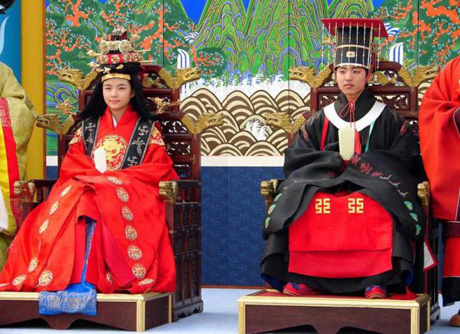 Южная Корея в мире, жених, люди, невеста, обряд, одежда, свадьба, традиция