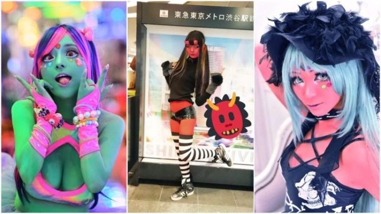 На съемку девушек вдохновили американские комиксы и японские художники Дзюнко Мидзуно и Rockin' Jelly Bean trend, идея, косплей, краска, мир, персонаж, тело, япония