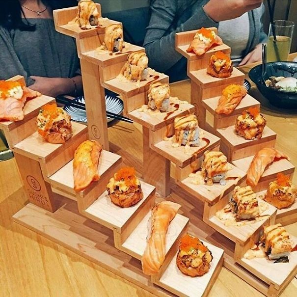 Лестница в небо блюда, еда, изыски, оформление блюд, подача блюд, ресторан, смешно, странные фантазии