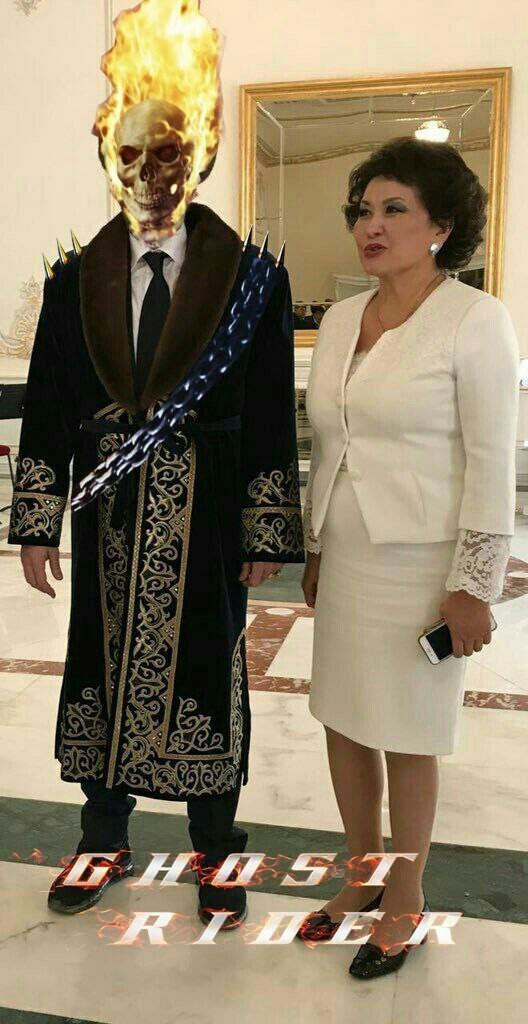 Казахстансий гонщик  казахстан, николас кейдж, прикол, соцсети, фотожаба, юмор