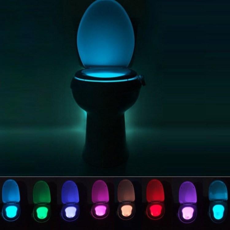 Почувствуй себя джедаем...Выбери свой световой унитаз! дизайн, прикол, санузел, туалет, унитаз