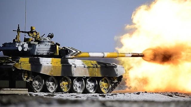 Россия одержала победу в «Танковом биатлоне» россия, танк, танковый биатлон