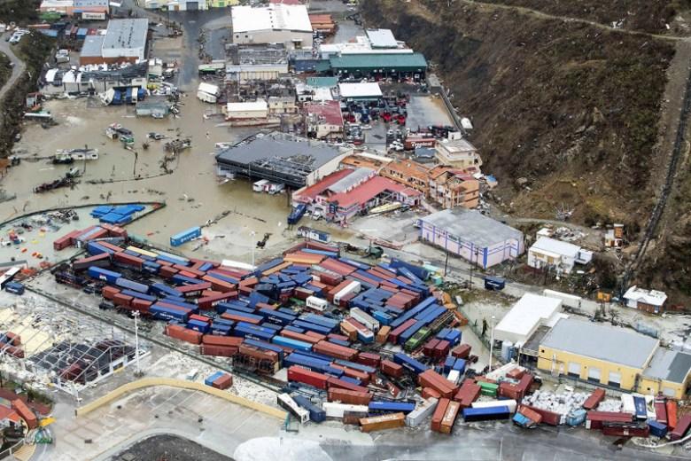 Остров Сен-Мартен после урагана Ирма Центральная Америка, ирма, катастрофа, разрушения, стихийное бедствие, стихия, ураган, флорида
