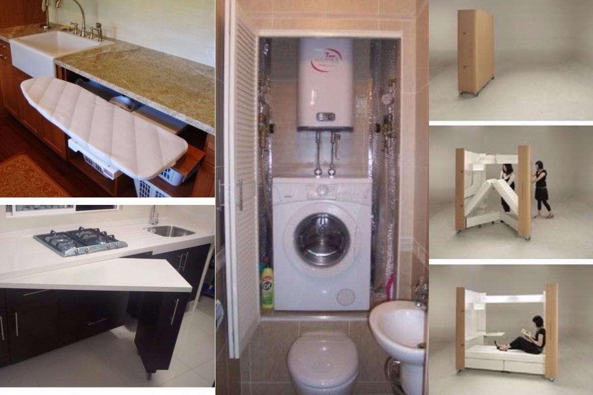 Лучшие способы экономии жилого пространства компактно, маленькая квартира, пространство, сделай сам, экономия