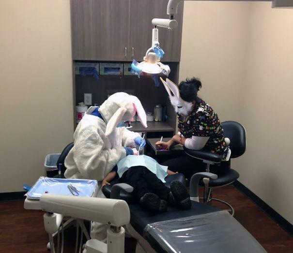 С ними не соскучишься! врачи, дантисты, забавно, зубной врач, приколы, стоматологи, фото, юмор