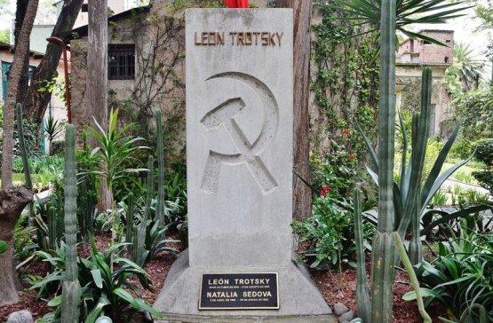 Так выглядит могила Льва Троцкого 1917, Лев Троцкий, интересные факты, исторические деятели, красная армия, троцкий, факты