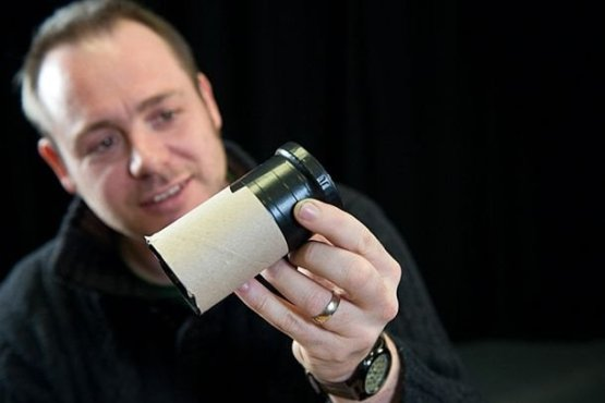 15. Просто: макрообъектив из втулки от туалетной бумаги идеи, интересно, камера, полезно, советы, трюки, фото, фотоаппарат