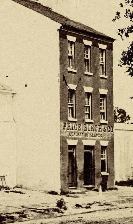 """""""Price, Birch & Co"""" - агентство по продаже рабов в Вирджинии, 1861 год аукцион, история, продажа, прошлое, раб, сша, фотография"""