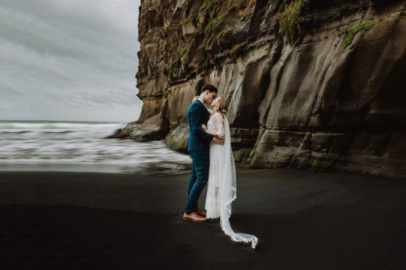 Бухта Маори, Окленд, Новая Зеландия. Любовь, отношения, свадебное фото, свадьба, фото, фотограф, фотография