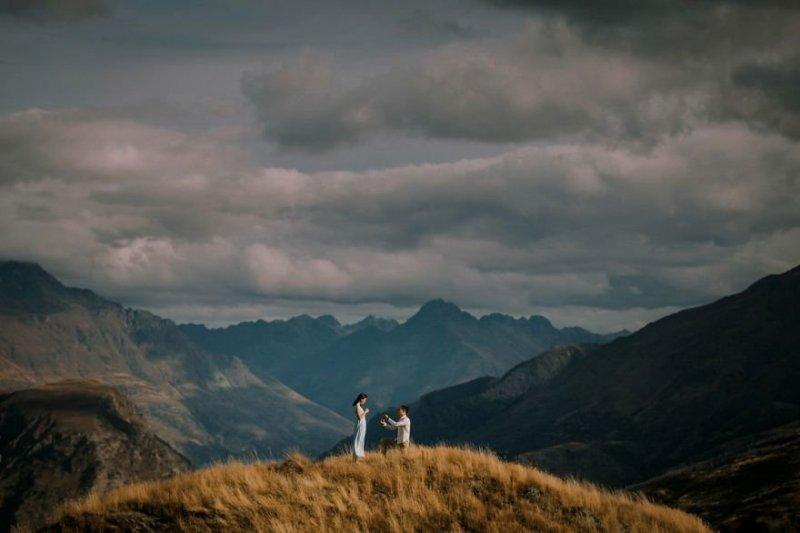Город Куинстаун, Новая Зеландия. Любовь, отношения, свадебное фото, свадьба, фото, фотограф, фотография