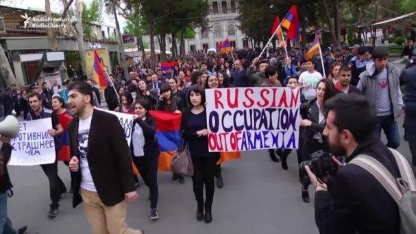 Картинки по запросу армения протесты россия